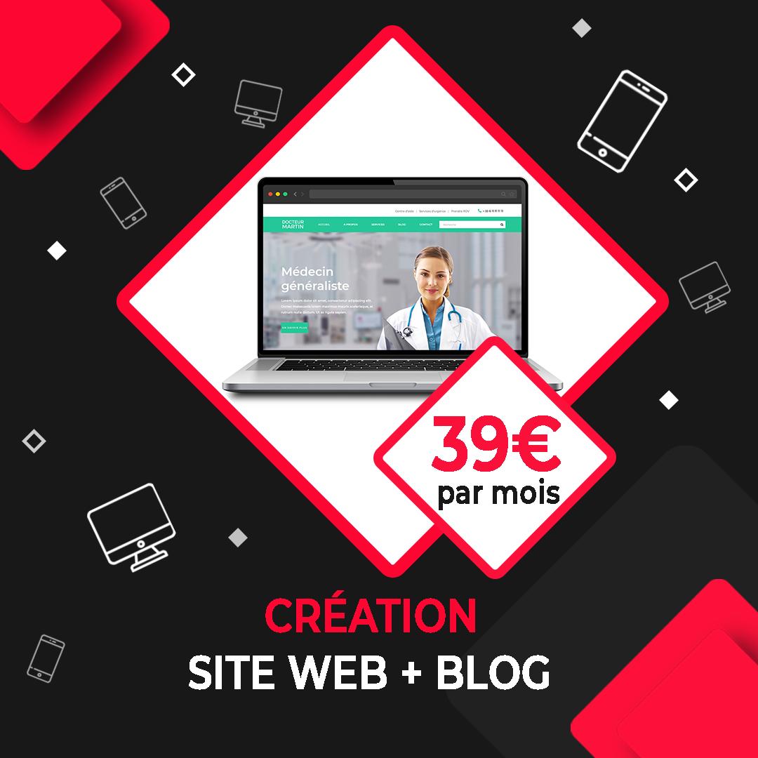 creation site web et blog